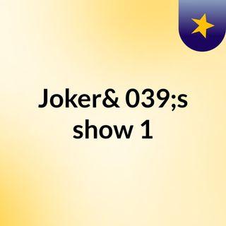 Joker News - Start Of A New Chapter