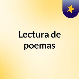 Lectura expresiva del poema El beso