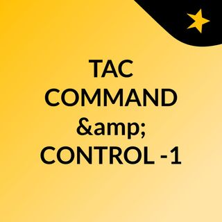Tactical Command and Control-1