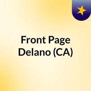Front Page Delano (CA)