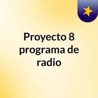 Proyecto 8 revolución mexicana