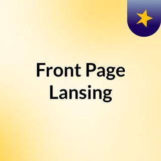 Front Page Lansing
