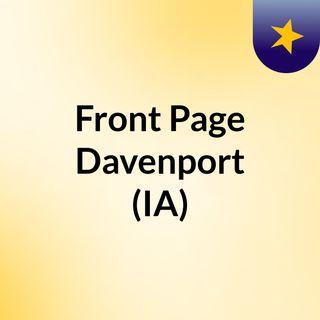Front Page Davenport (IA)