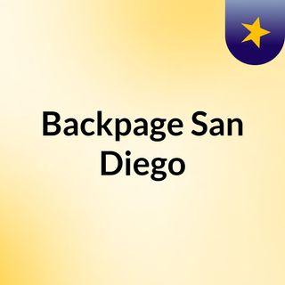 Backpage San Diego