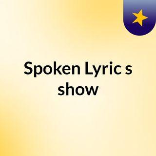 NFL Playoffs Take 2 Episode 8 - Spoken Lyric's show