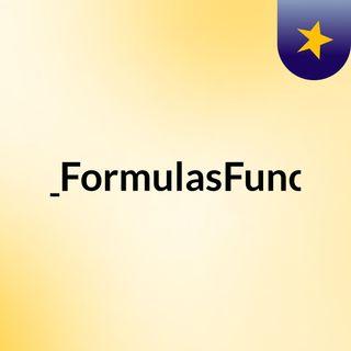 EXCEL_FORMULAS Introduccion