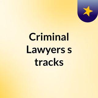 Criminal Lawyers's tracks