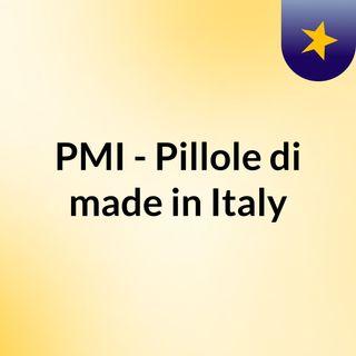 PMI - Pillole di made in Italy
