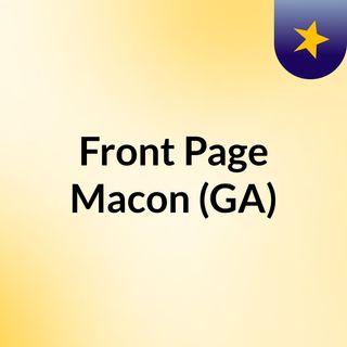 Front Page Macon (GA)