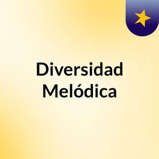 Diversidad melódica - sesión 1