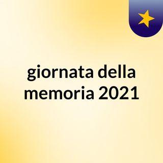 giornata della memoria 2021