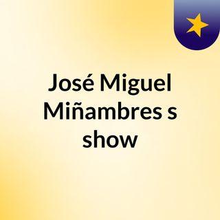 José Miguel Miñambres's show