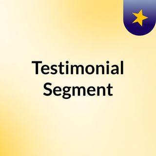 Testimonial Segment