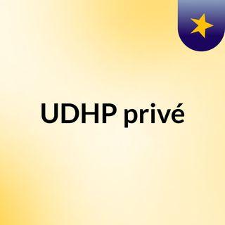 UDHP privé