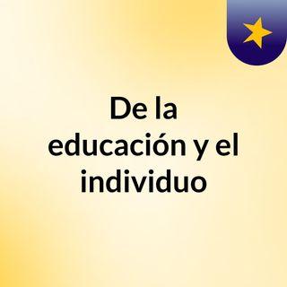 Introducción a la educación