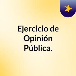 Trabajo de Opinión Pública (podcast)