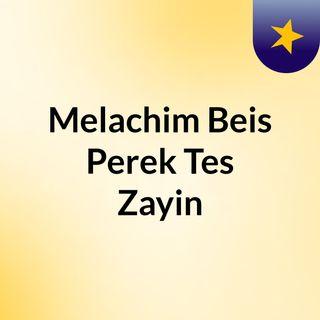 Melachim Beis Perek Tes Zayin