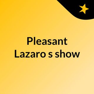 Rasta Bible Dedication - Pleasant Lazaro's show