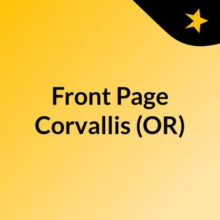 Front Page Corvallis (OR)