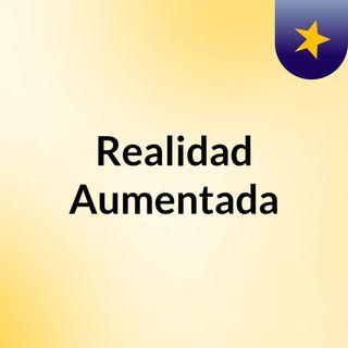 Realidad Aumentada; Juan Sebastian Avila