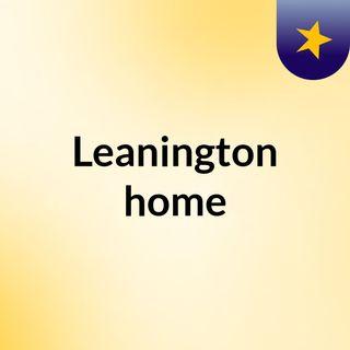 Leanington home