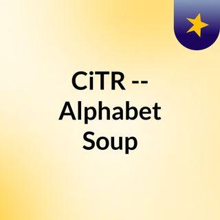 CiTR -- Alphabet Soup