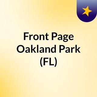 Front Page Oakland Park (FL)