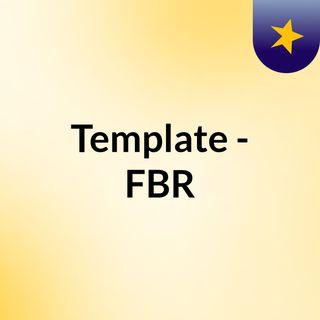 Template - FBR