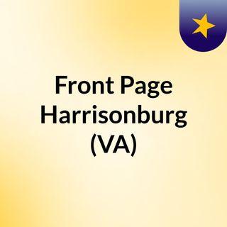 Front Page Harrisonburg (VA)