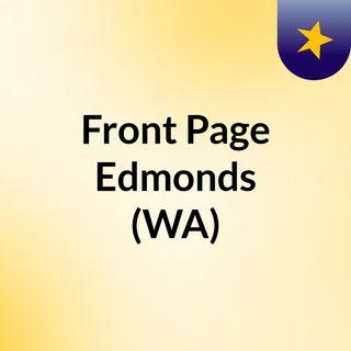 Front Page Edmonds (WA)