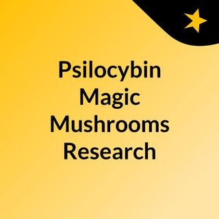 Psilocybin Magic Mushrooms Research