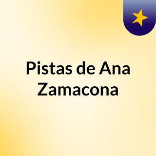 Pistas de Ana Zamacona