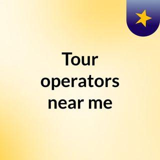 Tour operators near me