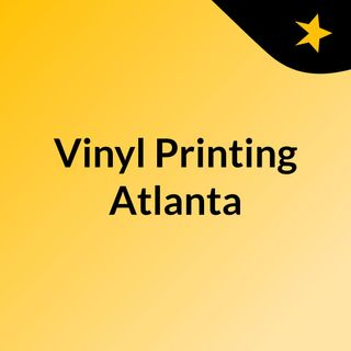 Customize apparels with vinyl printing in Atlanta