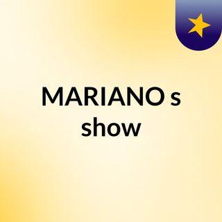 MARIANO's show