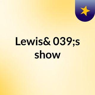 Lewis's live Radio