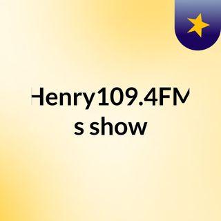 First Radio Show