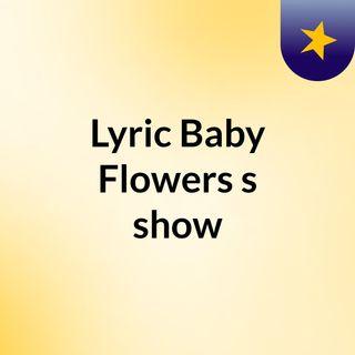 #lyricbabyflowers #sing #theweekend on lyrickaraokeShow #LashawnTaylor #By #Lyric #Baby #Flowers