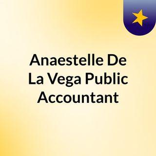 Anaestelle De La Vega a Public Accountant