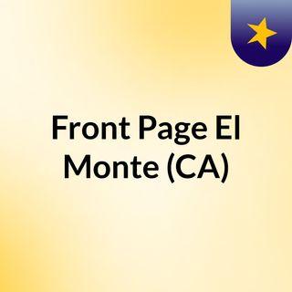 Front Page El Monte (CA)