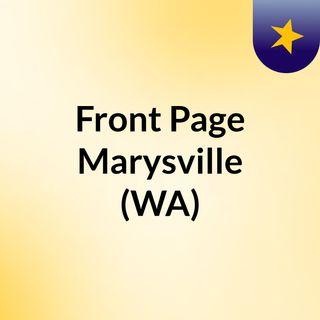 Front Page Marysville (WA)