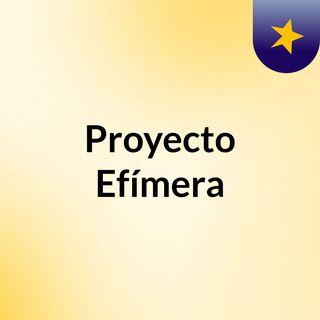Proyecto Efimera