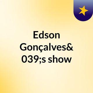 Edson Gonçalves's show
