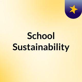 School Sustainability