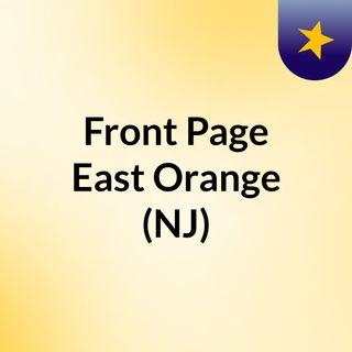 Front Page East Orange (NJ)