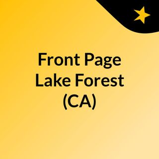 Front Page Lake Forest (CA)