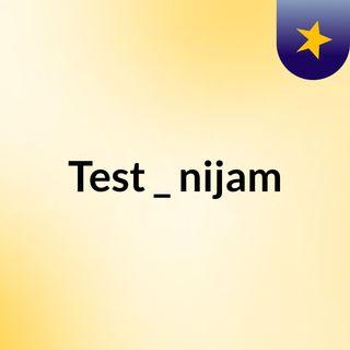 Test _ nijam