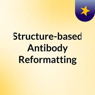 Structure-based Antibody Reformatting