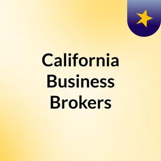 California Business Brokers