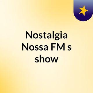Nostalgia Nossa FM #Pop90